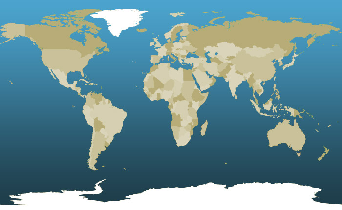 Iridium True Global Coverage Map