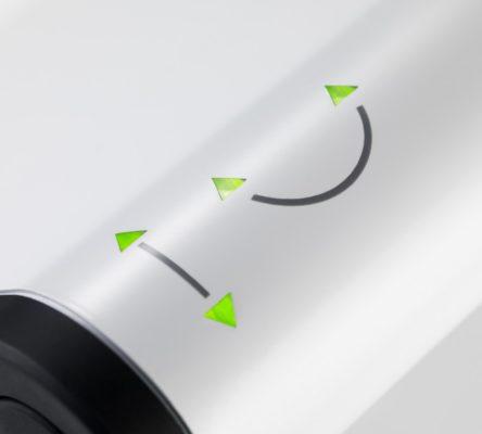 Inmarsat IsatHub iSavi Pointing Lights