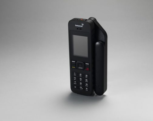 IsatPhone 2 Standing